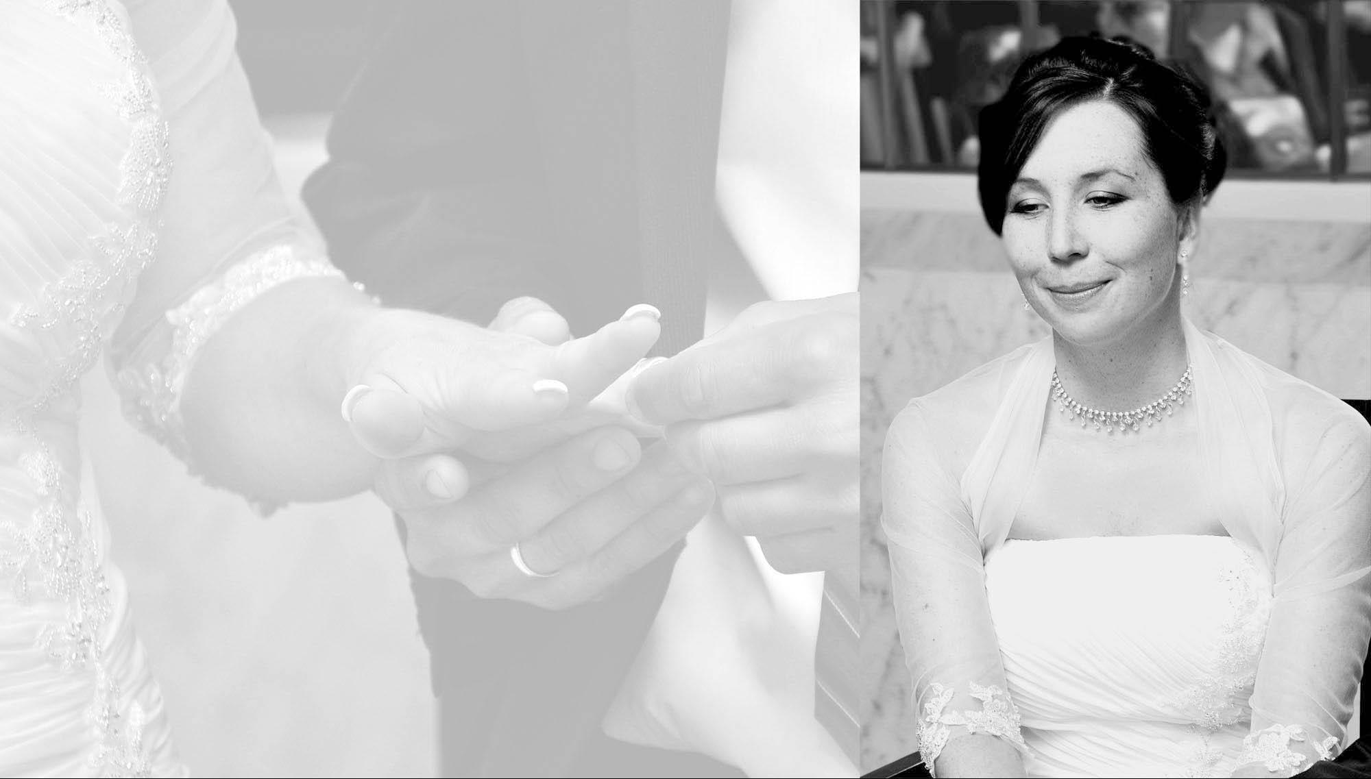 Hochzeitsfotografie - Der Ring passt