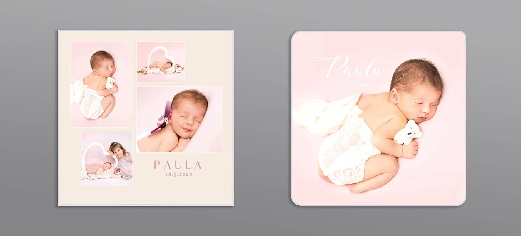 Karten zur Geburt Baby