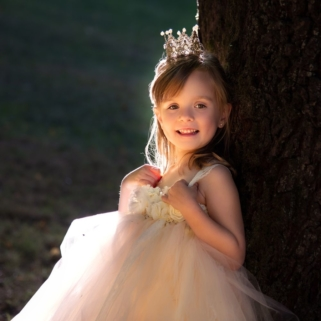 Fotoshooting-Prinzessin