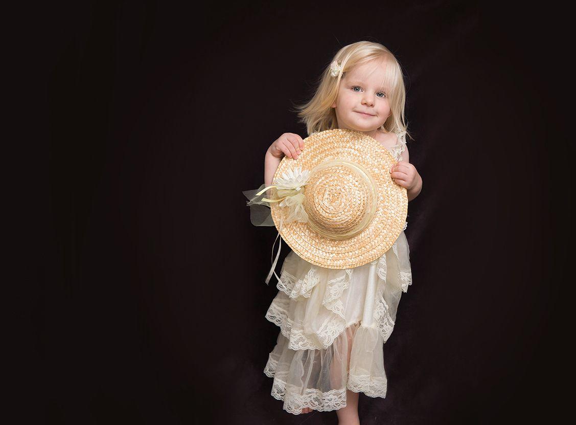 Kinder-Fotoshooting mit mobilem Fotostudio