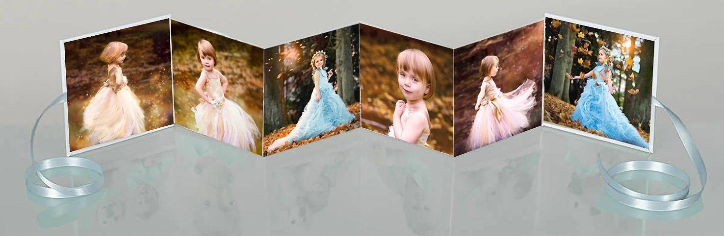 kleines Fotoalbum Prinzessin