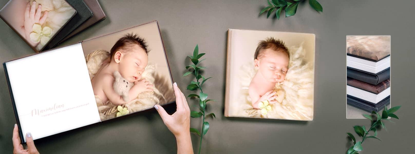 Fotobücher mit ihren Lieblingsbildern von der Famile